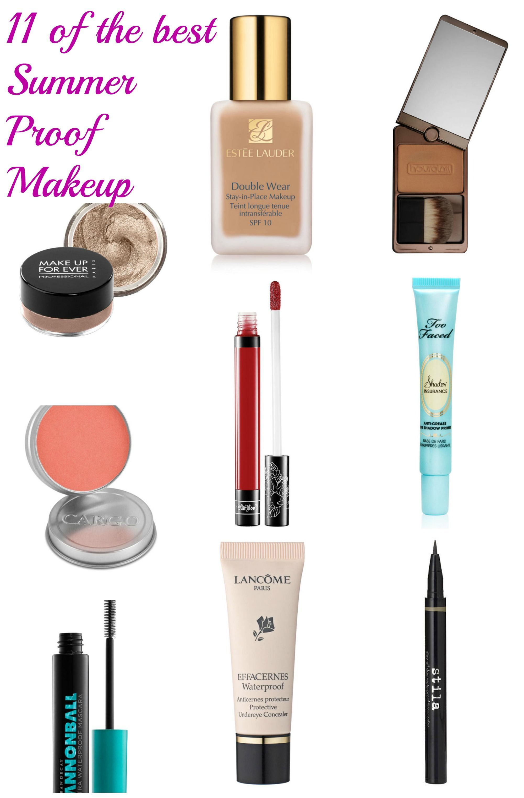 The Best Long Lasting Makeup For Hot Weather
